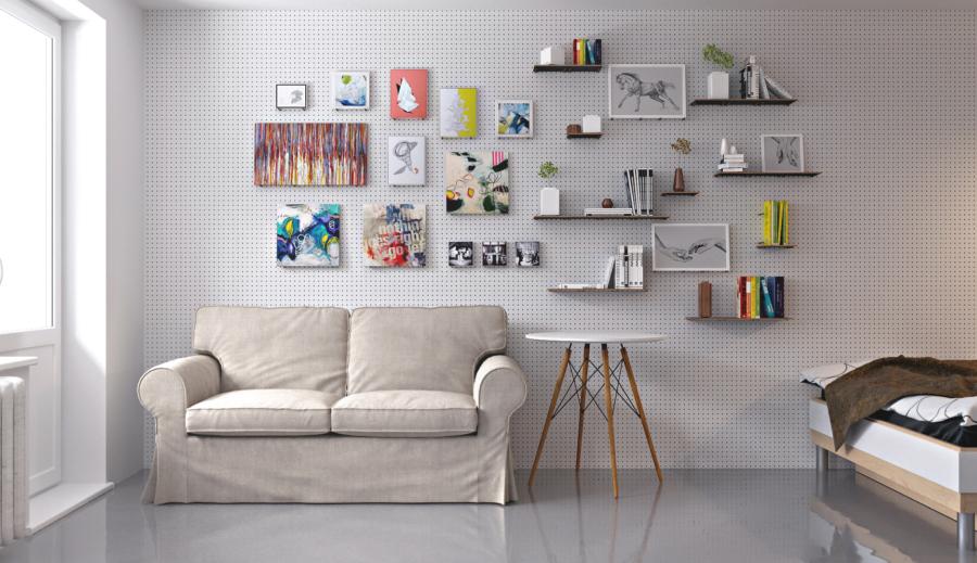 Лучший способ украсить стены в помещении